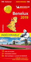 CARTE NATIONALE 795 BENELUX INDECHIRABLE 2019