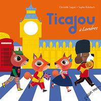 TICAJOU A LONDRES - POP ROCK ANGLAISE, POP ROCK ANGLAISE
