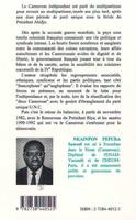 Le Cameroun : du multipartisme au multipartisme, du multipartisme au multipartisme