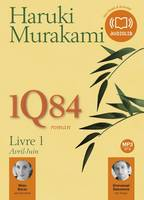 1Q84 Livre 1, Livre audio 2 CD MP3 - 592 Mo+ 560 Mo
