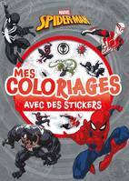 SPIDERMAN - Mes coloriages avec stickers