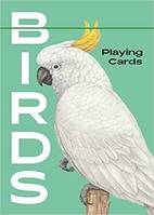 Birds Playing Cards /anglais