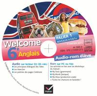 WELCOME ANGLAIS 6E ED 2011 - CD AUDIO-ROM ELEVE (D