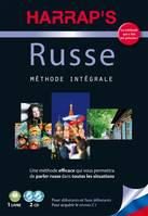 Harrap's méthode intégrale Russe - 2 CD + livre, HARRAP'S METHODE INTEGRALE RUSSE