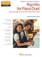 Pop Hits for Piano Duet - Popular Songs Series, 8 Arrangements for One Piano, Four Hands