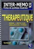 INTER MEMO THERAPEUTIQUE 2, Volume 2