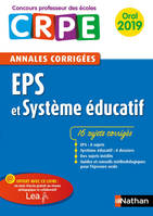Ebook - Annales CRPE : EPS 2019, Oral 2019