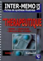 INTER MEMO THERAPEUTIQUE, Volume 1