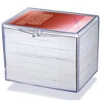 Deckbox - Hinged Clear box - 150 cartes