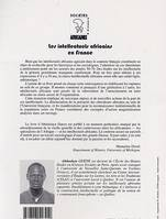 Les intellectuels africains en France