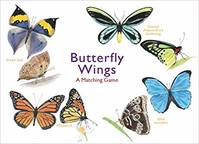 Butterfly Wings A Matching Game /anglais