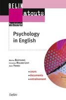 Psychology in English, méthodes de recherche et communication scientifique