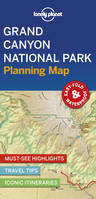 Grand Canyon National Park Planning Map - 1ed - Anglais
