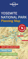 Yosemite National Park Planning Map - 1ed - Anglais
