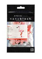 MINI SERIES NANOBLOCK // GREATER FLAMINGO