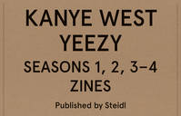 Kanye West Yeezy Seasons 1, 2, 3-4 Zines Boxed Set /Anglais