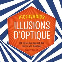 Incroyables illusions d'optique - set de cartes
