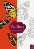 Papillons, 70 coloriages anti-stress