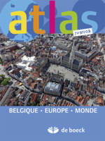 ATLAS JUNIOR - BELGIQUE EUROPE MONDE