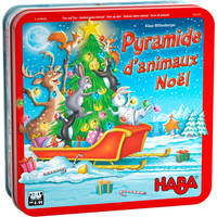 Pyramide d'animaux - Noël