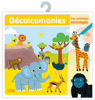 DECALCOMANIES ANIMAUX SAUVAGES