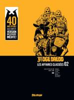 2, JUDGE DREDD, AFFAIRES CLASSEES 2 - LA TERRE MAUDITE, VERSION INTEGRALE, Les affaires classées