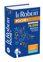 Dictionnaire Le Robert de poche plus 2020