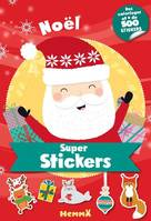 F79032/11 - Super stickers - Noël: Des coloriages et + de 500 stickers