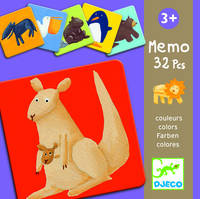 MEMO ANIMAUX COULEURS