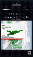 MINI SERIES NANOBLOCK CROCODILE