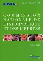 COMMISSION NATIONALE DE L'INFORMATIQUE ET DES LIBERTES - 28E RAPPORT D'ACTIVITE - EDITION 2008