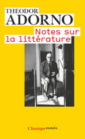 Notes Sur La Litterature
