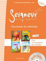 8-11 ANS - DOCUMENTS DU CATECHISTE ORANGE (+ DVD) - MODULES 1 A 4 - EDITION SIMPLIFIEE