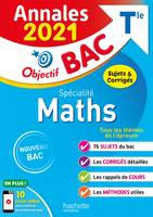 Annales Bac 2021 Spé Maths Term