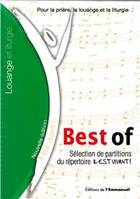 Il est vivant best of - sélection de chants de l' emmanuel - textes et partitions