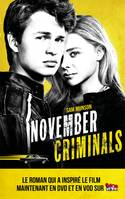 The November criminals avec affiche du film en couverture