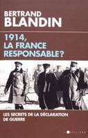 1914, la France responsable ?, Secrets de la déclaration de guerre