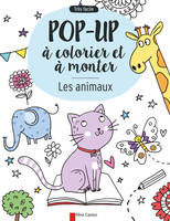 Les Animaux - Pop-Up A Colorie