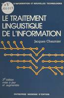 Le traitement linguistique de l'information
