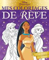 DISNEY PRINCESSES - Mes coloriages de rêve - Princesses du monde