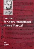 Courrier du Centre International Blaise Pascal, n°31/2009