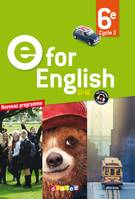 E for English 6e - Livre