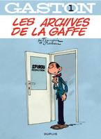 Gaston - tome 01 - Les archives de La Gaffe, Volume 1, Les archives de la gaffe