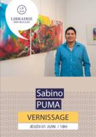 Vernissage Sabino Puma