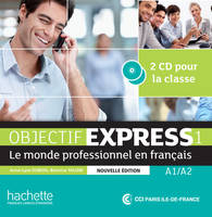 Objectif Express 1 NE : CD audio classe, Objectif Express 1 NE : CD audio classe