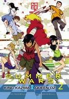2, Summer Wars - King Kazma VS Queen Oz T02, King Kazima vs Queen Oz