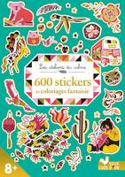 600 stickers et coloriages fantaisie