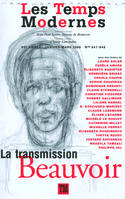 Les Temps Modernes, La transmission Beauvoir