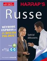 Harrap's méthode express russe - 2 CD + livre, METHODE EXPRESS RUSSE