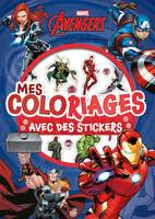 AVENGERS - Mes Coloriages avec Stickers - MARVEL